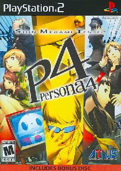 PS2 - Shin Megami Tensei: Persona 4