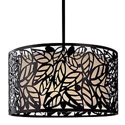 Metal Leaf Hanging Light