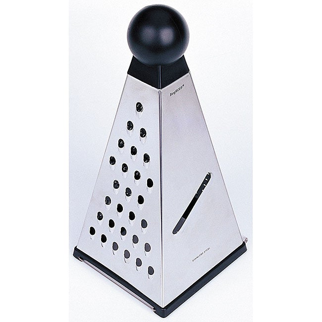 Pyramid Grater with Catch Tray