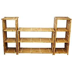 Natural Bamboo Shelf System (Vietnam)