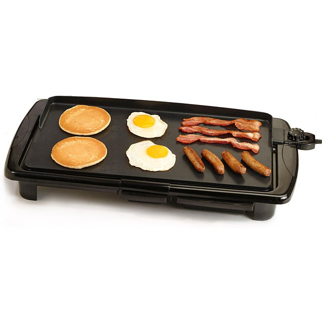 Nonstick Electric Griddle with Thermostat Control