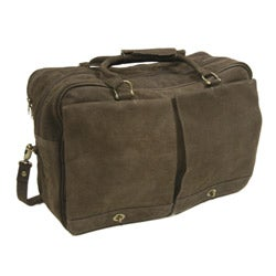Piel Top Grain Leather Carry-on Tote Bag