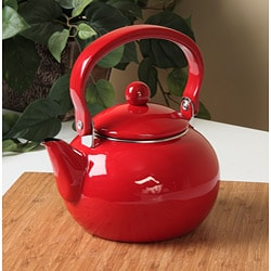 Calypso Basics Red 2-quart Tea Kettle