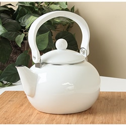 Reston Lloyd Calypso Basics White 2-quart Teakettle