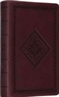 Holy Bible: English Standard Version, Trutone Chestnut, Diamond Design (Paperback)