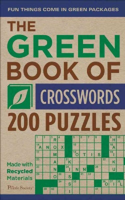 The Green Book of Crosswords: 200 Puzzles (Paperback)