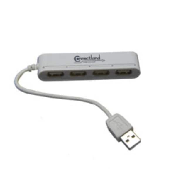 Connectland USB 2.0, 4-Port Mini Hub