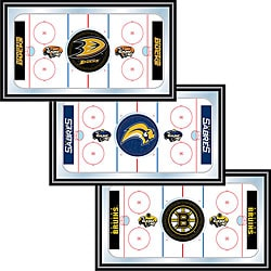 NHL Licensed Hockey Rink Framed Mirrors
