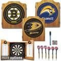 NHL-licensed Hockey Team Dart Cabinet Set