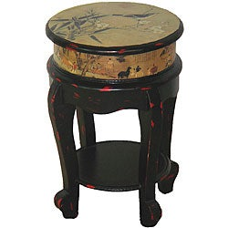 Golden Flower Stool (China)