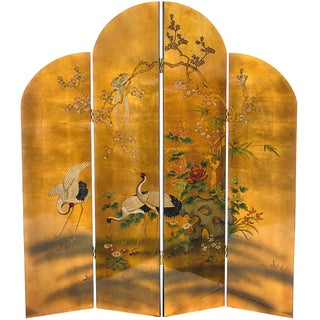 Golden Cranes Screen (China)