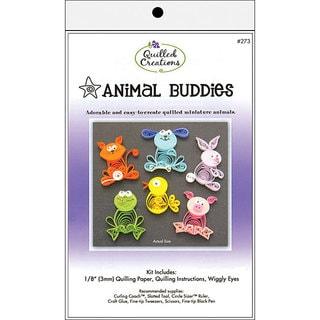 Animal Buddies Quilling Kit