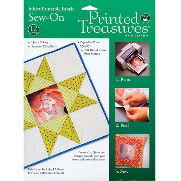 Printed Treasures Inkjet Printable Fabric