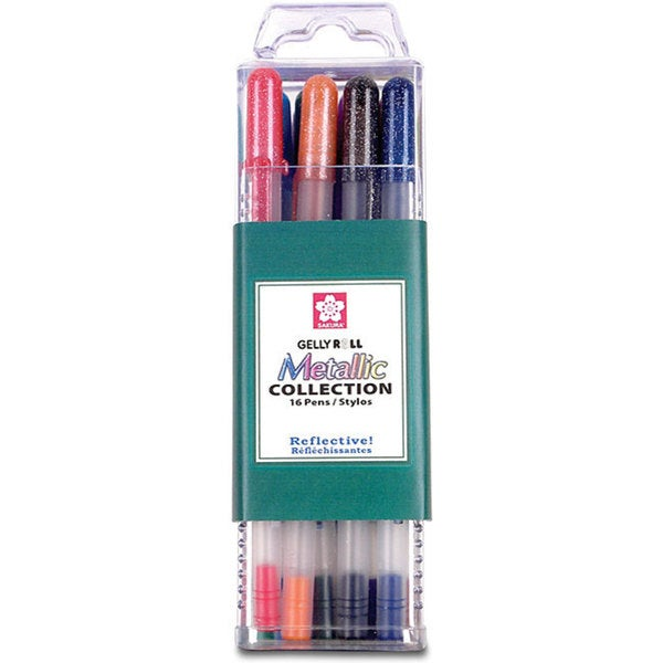 Sakura Metallic Gelly Roll Pen Collection (Pack of 16)