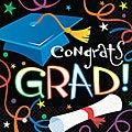 Super Value 'Graduation' Beverage Napkins (Pack of 100)