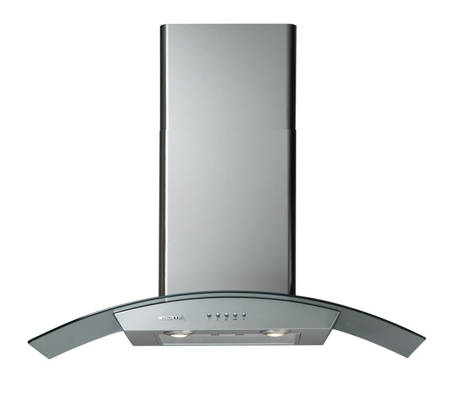 Curved Canopy 30-inch Wall-mounted Range Hood