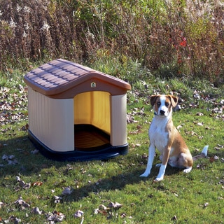 Tuff-N-Rugged Large All Weather Insulated Dog House