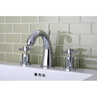 Concord Widespread Chrome Finish Bathroom Faucet