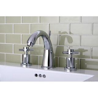 Concord Widespread Chrome Finish Bathroom Faucet