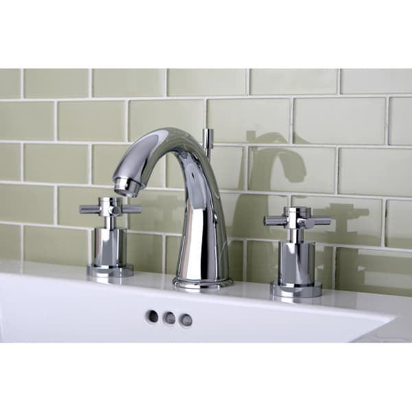 Widespread Bathroom Faucet Chrome : Concord Widespread Chrome Finish Bathroom Faucet - 11568342 ...