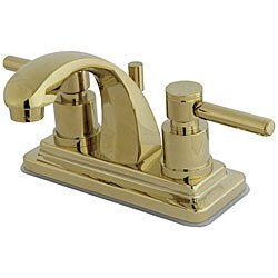 Concord Polished Brass 4-inch Bathroom Faucet