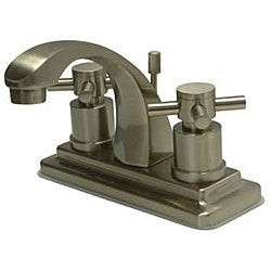 Concord 4-inch Satin Nickel Bathroom Faucet