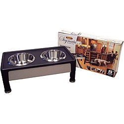 Signature Series 8-inch Black Pet Diner