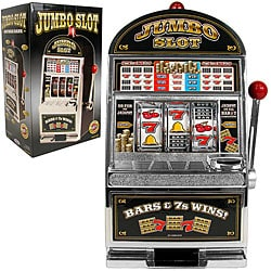 Bars and Sevens Slot Machine Bank - Replica