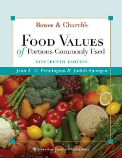 Bowes & Church's Food Values of Portions Commonly Used (Paperback)