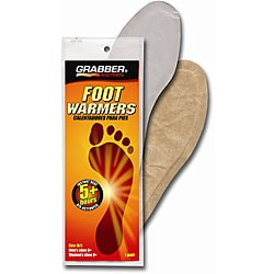 Grabber 5+ Hour Medium/ Large Foot Warmer Insoles (Pack of 30 Pairs)