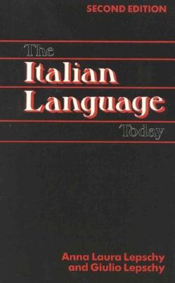 Italian Language Today (Paperback)