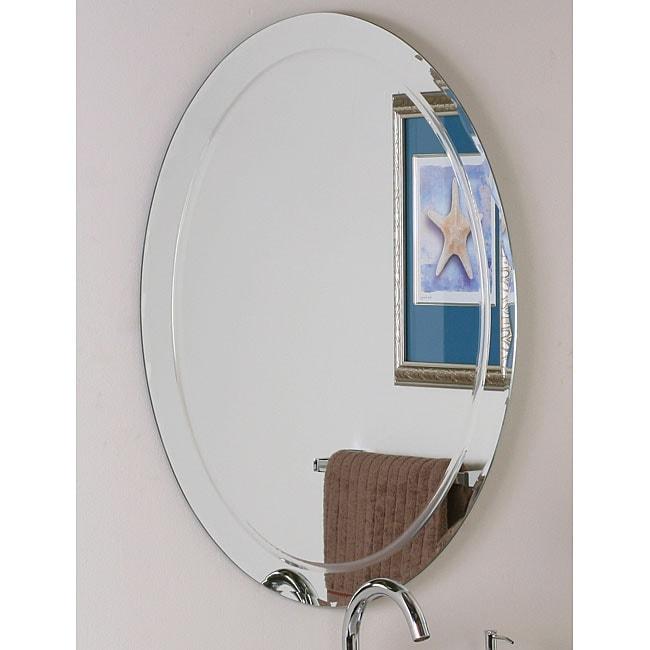 Frameless Aldo Wall Mirror Overstock Shopping Big