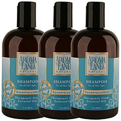 Aromaland Rosemary and Mint 12-ounce Shampoo (Pack of 3)