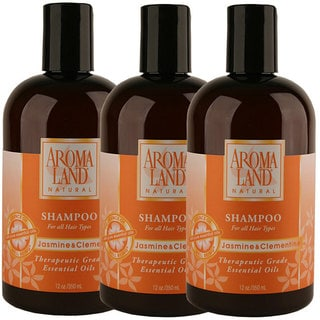 Aromaland Jasmine and Clementine 12-ounce Shampoo (Pack of 3)