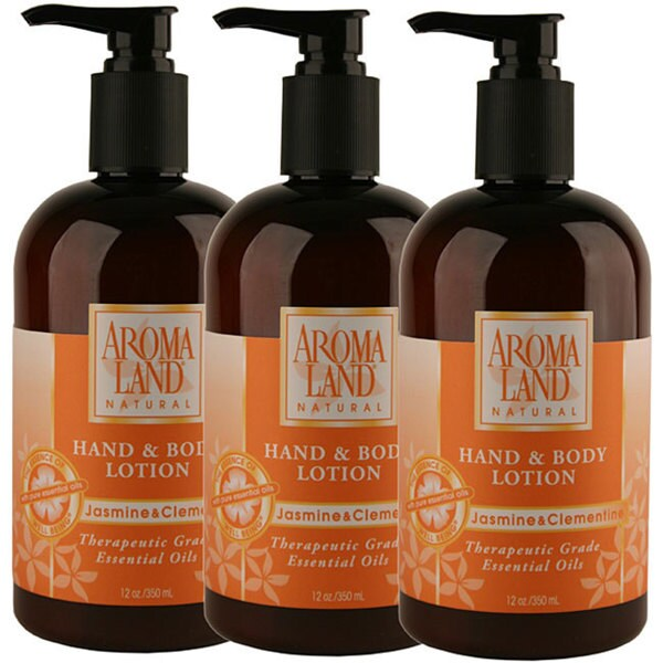 Aromaland Jasmine/ Clementine 12-ounce Body Lotion (Pack of 3)