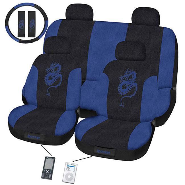Dragon 11-piece Automotive Seat Cover Set