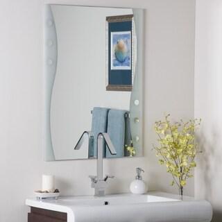 Frameless Maritime Wall Mirror - Silver - A/N
