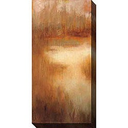 Caroline Ashton 'Brownwood Path I' Canvas Art