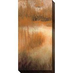 Caroline Ashton 'Brownwood Path II' Canvas Art