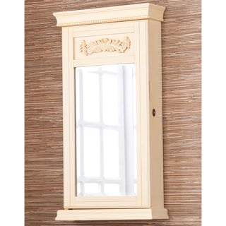 Avery French Vanilla Jewelry Armoire