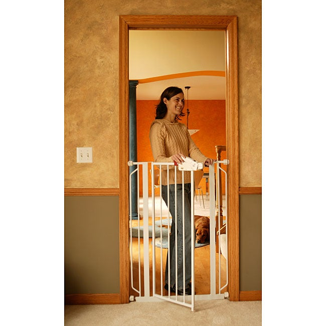 Regalo Easy Step Extra Tall Metal Walk Thru Gate