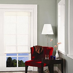 Kansas White Roll-up Blind (60 in. x 72 in.)