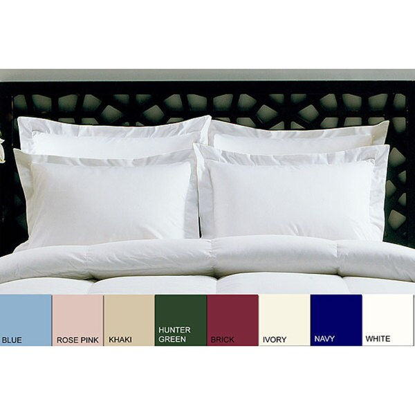 Cotton 205 Thread Count Pillow Shams (Pack of 4)