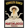 Marcello Dudovich 'Martini & Rossi' Framed Art