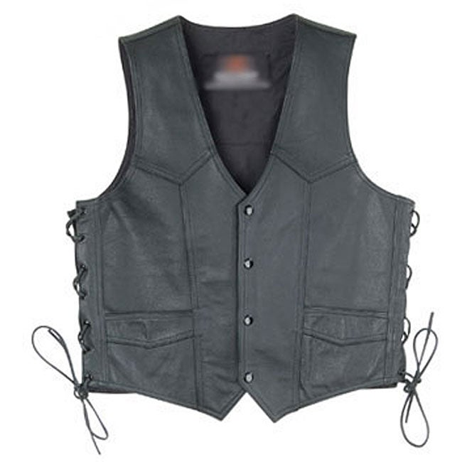 Mossi Women's Lace-up Leather Vest