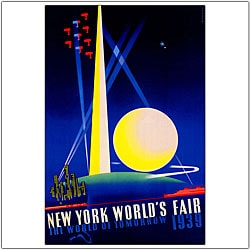 Joseph Binder 'New York World's Fair' Canvas Art