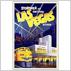 'Las Vegas' Framed Art