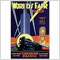 Norman Fraser 'Chicago World's Fair' Framed Art