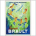 Phillipe H. Noyer 'Limonade Brault' Framed Art