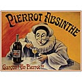 L.E.M. 'Pierrot Absinthe Garcon!' Canvas Art